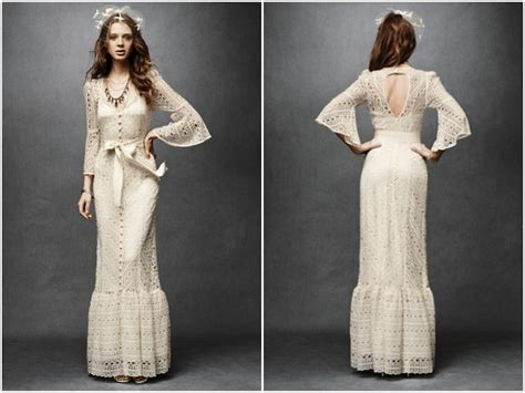 Dress Elizabet Hitam wedding dress of the week bhldn greenbow lace gown bridal musings