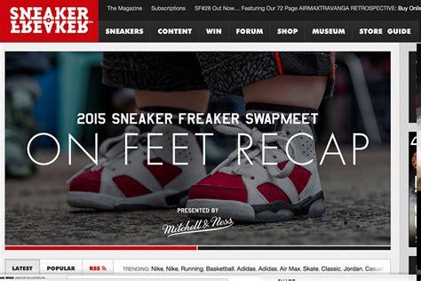 shoe websites complex picks the best sneaker blogs gets it right sole