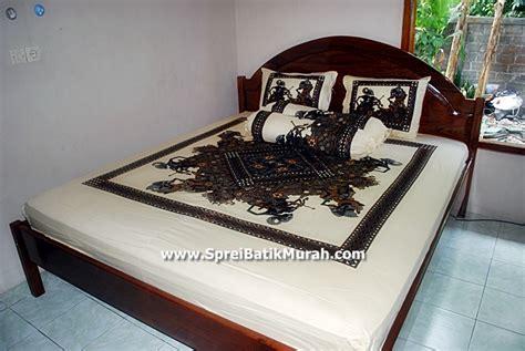 Sprei Ukuran 180x200 Sprei Ilusion Murah Sprei Batik King Size jual sprei batik