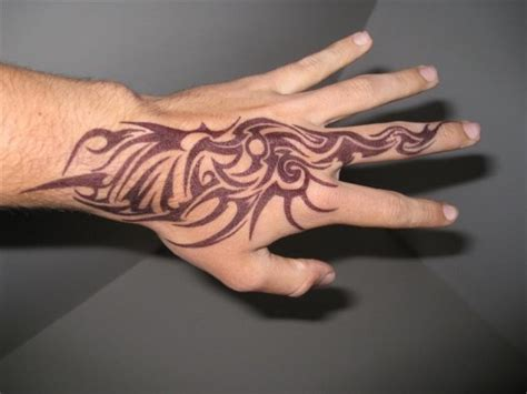 tribal hand tattoos for men directory beautiful tribal designs