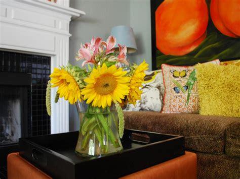 floral arrangements for living room photos hgtv