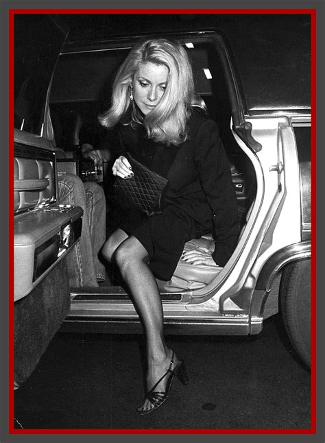 exit  car  catherine deneuve  shot  ron