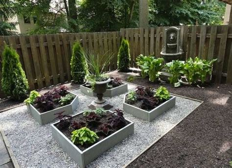 backyard planter designs raised planter boxes backyard landscape ideas 8 lawn