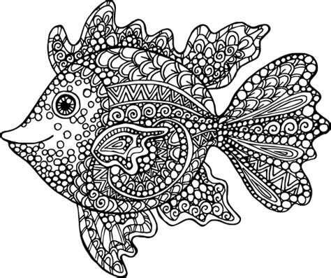 coloring pages exotic animals exotic fish coloring page kidspressmagazine com
