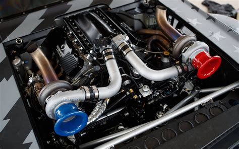 hoonigan mustang engine hoonigan представили 1400 сильный мустанг для кена блока