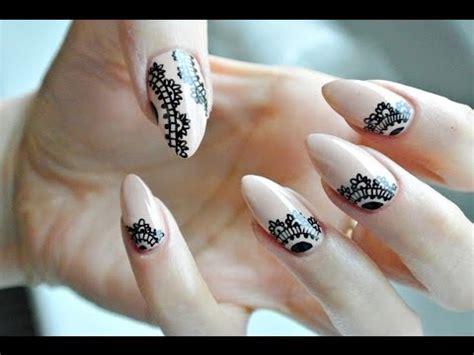 tutorial nail art pakai henna mehendi nails 2 nailart tutorial rapidograf odette