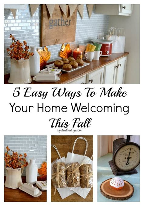 make your home 5 easy ways to make your home welcoming this fall