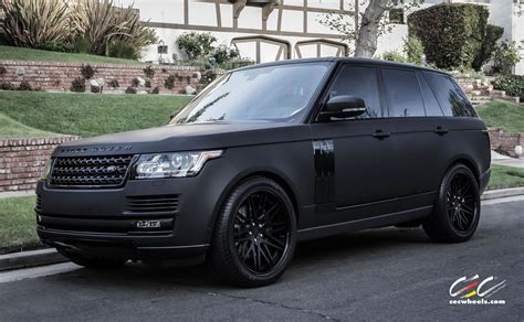 mercedes land rover matte black 2015 cec wheels tuning cars suv range rover supercharged