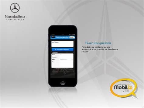 Mercedes Application by Application Mobile Mercedes C 244 Te D Azur