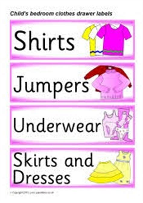 Wardrobe Clothing Label by 25 Best Images About Drawer Labels On