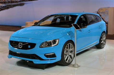 Ebay Of The Day Smurftastic by Volvo V60 Polestar Is Smurftastic Types