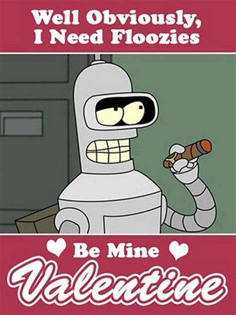 futurama valentines day quote 20 awesome pop culture valentines for your sweetheart