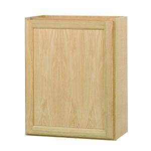 home depot unfinished kitchen cabinets assembled 24x30x12 in wall kitchen cabinet in unfinished