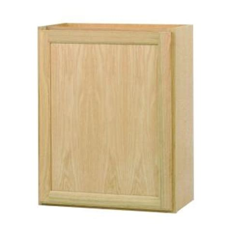 unfinished oak kitchen cabinets home depot assembled 24x30x12 in wall kitchen cabinet in unfinished