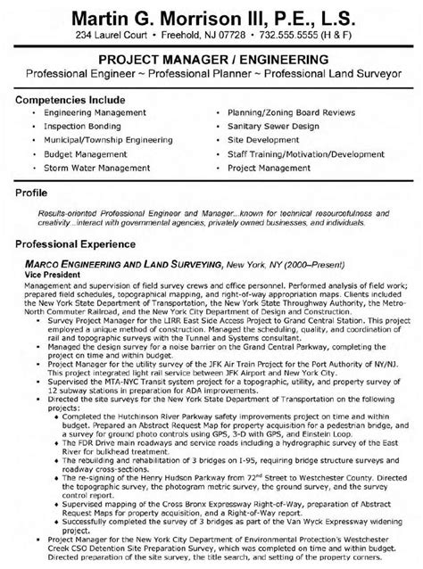 land surveyor resume sle best resume gallery