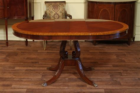 mahogany dining room table mahogany pedestal dining table 44 quot reproduction antique dining room table ebay
