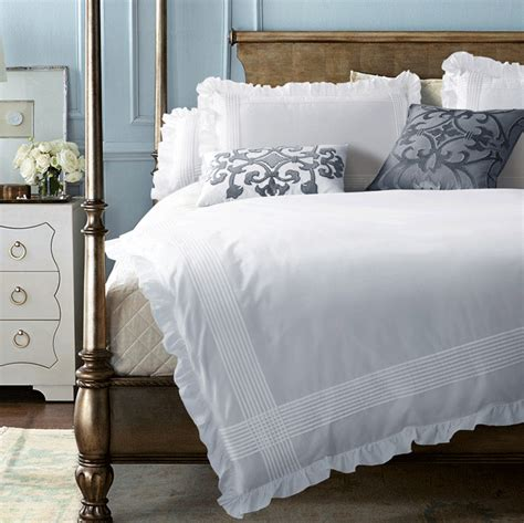 Your Photo Is Set To Grace The Cover Of Wired Magazine by Grace White Duvet Cover Set Ruffles Bedding