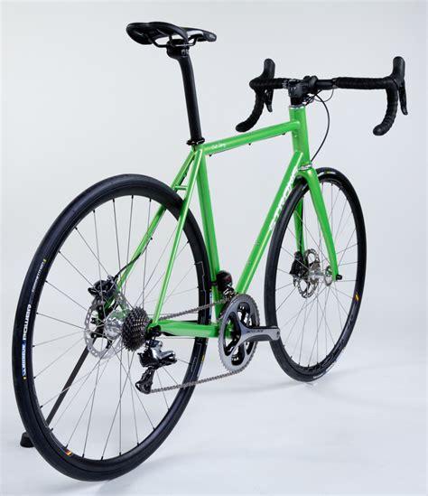 Handmade Steel Bike Frames - strong frames dave m custom blend steel disc brake