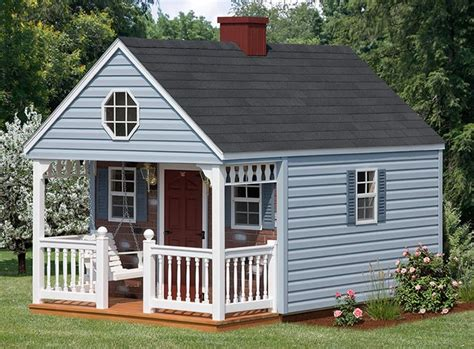 Backyard Small Playhouses Backyard Cabin Backyard Cabinbr 10x10 To