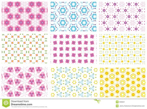 repeat pattern definition art nine repeated patterns stock vector image of effect card