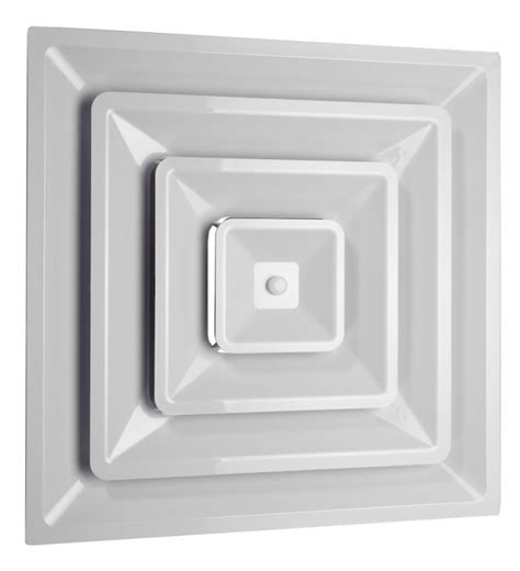 Return Ceiling Diffuser by Plastic 2 X2 Supply Diffuser 3 Cone Insulated Back
