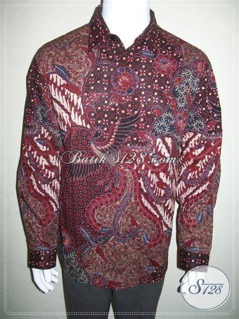 Kemeja Batik Lengan Panjang Lb 260 kemeja batik ukuran lengan panjang murah motif elegan lp434ct toko batik