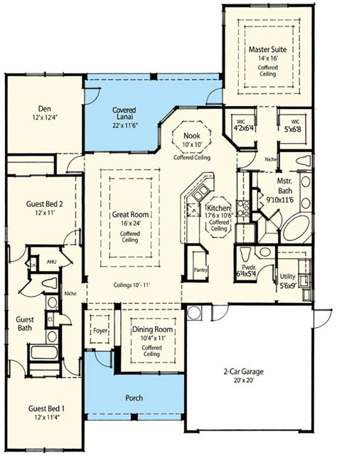 Energy Efficient House Plan 33002zr Architectural Efficient House Design Plans