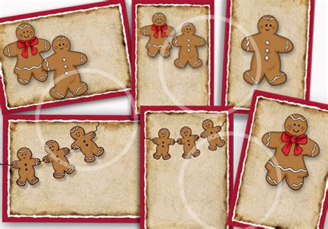 printable gingerbread man gift tags gingerbread baked goods gift tags gingerbread labels