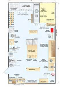 Woodworking Shop Floor Plans by A New England Natural