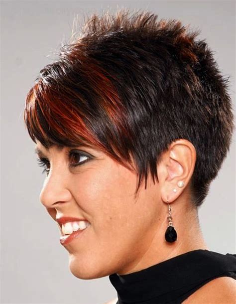 very short spiked in back hair cuts pictures of short spikey hair styles for black women