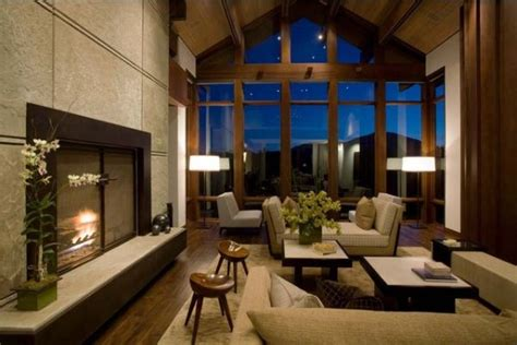 how to decorate a living room with large windows - Livingroom Windows