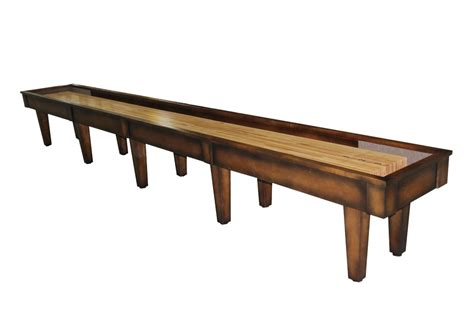 Mcclure Tables by 20 Foot Sloan Maple Shuffleboard Table Mcclure Tables