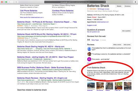 digital marketers guide  google  business descriptions reviewtrackers
