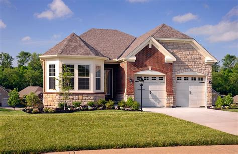 house plans for patio homes harmony place patio homes union ky