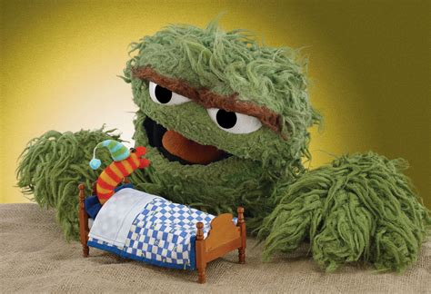 Sesame Lets Hike image oscar tucks slimey in jpg grouches wiki fandom