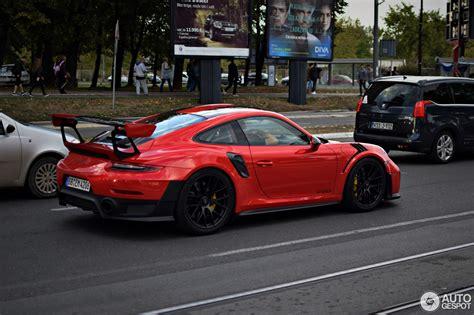 Porsche Gt2 991 by Porsche 991 Gt2 Rs Weissach Package 24 September 2017
