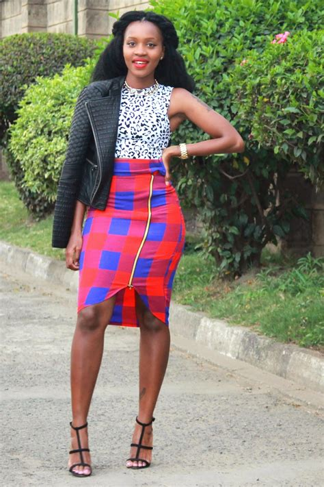 styling kenyan thread muse kenyan fashion bloggers series print on print