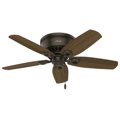 low profile ceiling fan 51091 builder low profile harvest mahogany