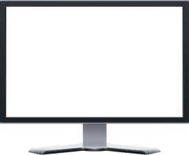 computer monitor blank clip at clker vector clip