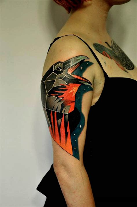 red raven tattoo great pictures tattooimages biz