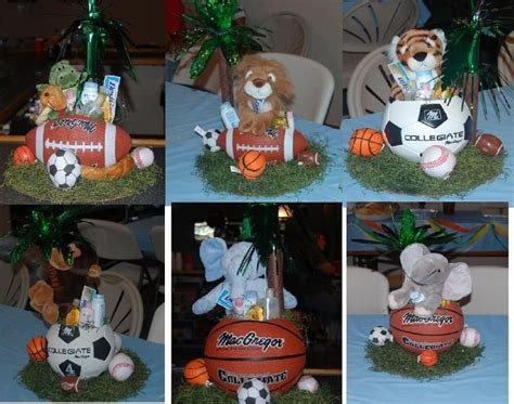 Baby Shower Sports Centerpieces by Discover And Save Creative Ideas
