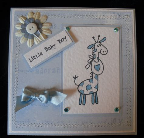 Handmade Baby Boy Cards - rjk handmade cards and crafts may 2010