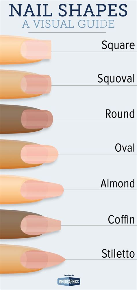 8 Nail Shapes And How To Choose The One For You by Best 25 Nail Designs Ideas On Neutral