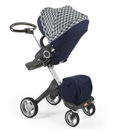 Hair Style Kit Ride by Stokke Stroller Seat Style Kit Grey Cube