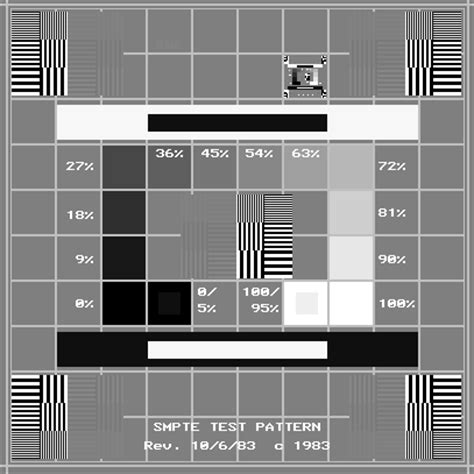 smpte test pattern ultrasound society of motion picture and television engineers wikipedia