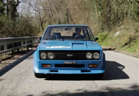 Fiat 131 Abarth Rally Bangshift Nothing But Noise Go For A Ride On This