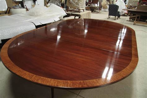 unique expanding round table becomes oval youtube custom american made 84 inch round mahogany dining table