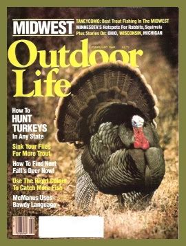vintage february 1945 outdoor life magazine hunting vintage outdoor life magazine february 1985 like new