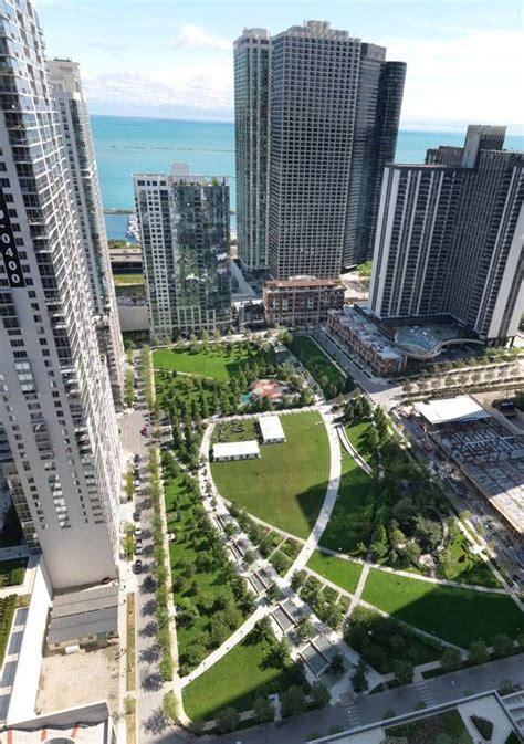 Landscape Architect Chicago Landscape Architecture The Park At Lakeshore East