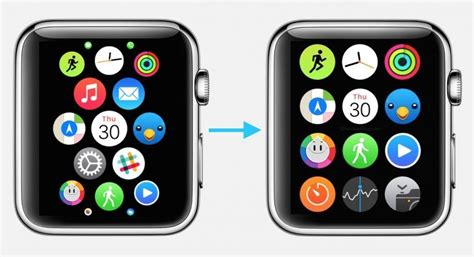 app layout apple watch l 233 cran d accueil de l apple watch un magnifique bordel